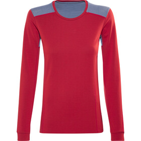 Norrøna Falketind Super Wool Shirt Damen crimson kick